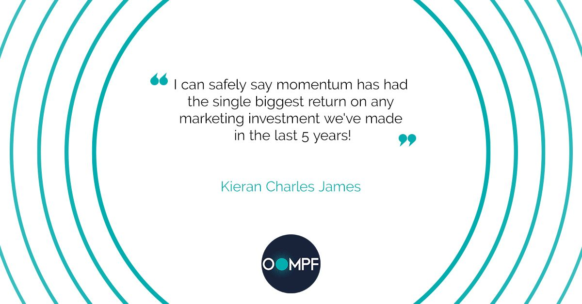"""""""I can safely say momentum has had the single biggest return on any marketing investment we've made in the last 5 years!""""  - Kieran Charles James  #SuperpowersForAccountants #Marketing #Accounting #CPA #Accountant #RelationshipsFirstSalesSecond #MarketingWithOompf #VITAL https://t.co/FLeNn6QSWQ"""