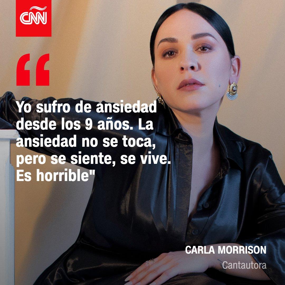 La cantautora mexicana Carla Morrison habla de su vida con la ansiedad, la cual empezó a sufrir desde los 9 años   https://t.co/5zU8HxdlTs https://t.co/dppSwGxRay
