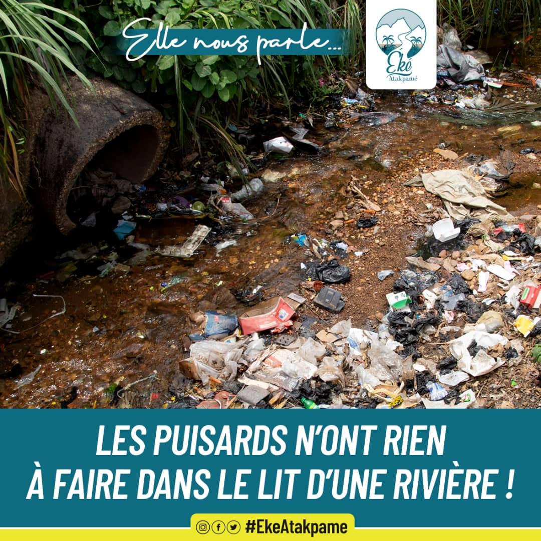 Les eaux usées ne devraient pas avoir comme point de chute la rivière.  #EkeAtakpame #communeogou1 #Atakpame #TgTwittos #Togo #tt228 https://t.co/aUL4zRnGeD