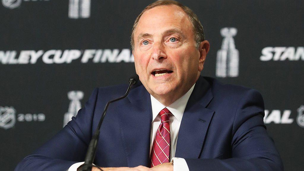 🏒 TODAY 🏒 #NHL Commissioner Gary Bettman joins @JeffMarek, @StuMunrue & @jtbourne at 12:30! #HockeyCentral