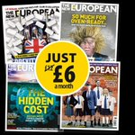Image for the Tweet beginning: Subscribe to The New European