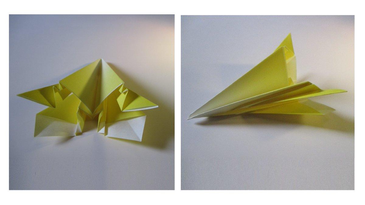 聖書《 二人か三人がわたし(イエス)の名において集まっているところには、わたしもその中にいるのです。  マタイ18:20》 #origami  #折り紙 #おりがみ飛行機 #折紙 #アート #折り紙作品  #架空機 #創作 #art  #paperplanes #紙ヒコーキ  #みことば #jetfighter #飛行機 #paperairplane 作品紹介! https://t.co/abyrJaGc9h