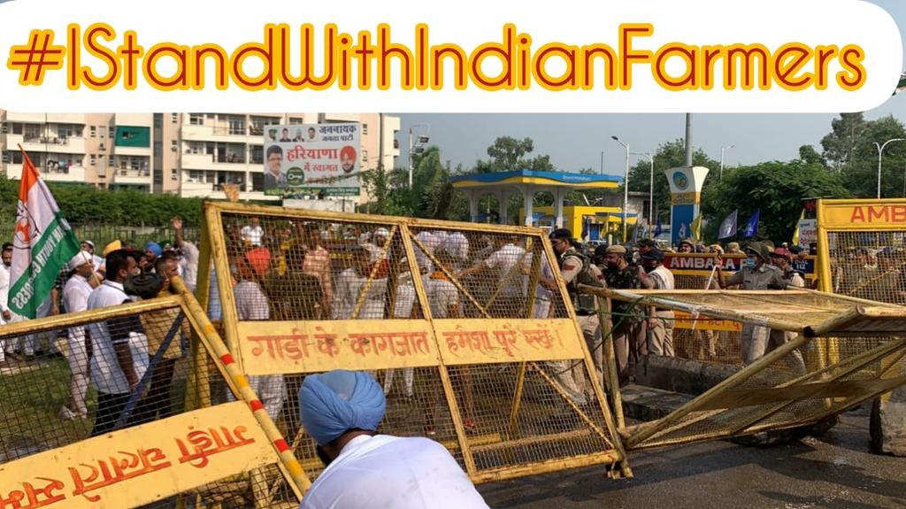 #IStandWithIndianFarmers
