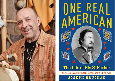 It's Virtual Book Tour day with Joseph Bruchac! Visit our blog to hear the author talk about his new biography on an unsung hero, One Real American: The Life of Ely S. Parker. An exclusive recording and activities are included. @JosephBruchac @abramskids https://t.co/X9rz9HMUgI https://t.co/0b0yRxBwU8