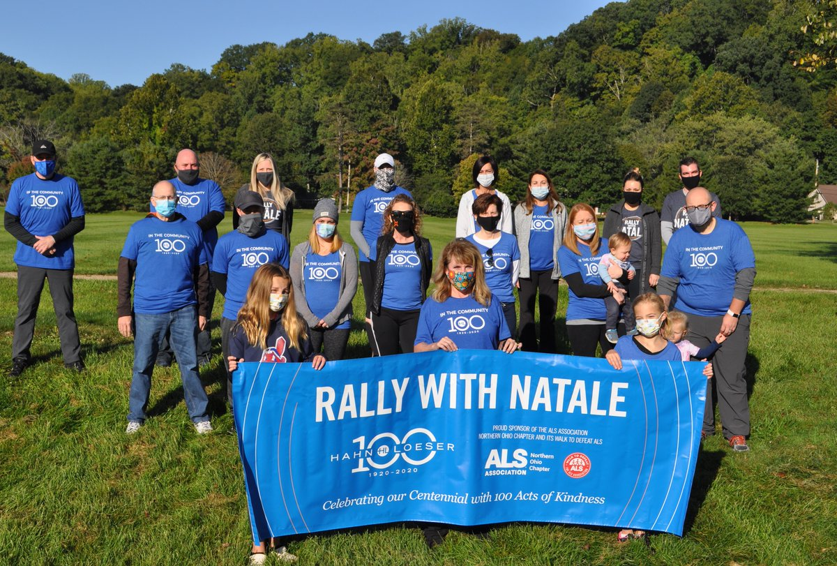 Hahn Loeser's Cleveland and Columbus attorneys, staff and their families recently participated in the The ALS Association Northern Ohio Chapter's Walk to Defeat ALS in support of HLP partner Andrew J. Natale.  #HLP  #100ActsofKindness  #RallywithNatale https://t.co/6IsRqdXXdX