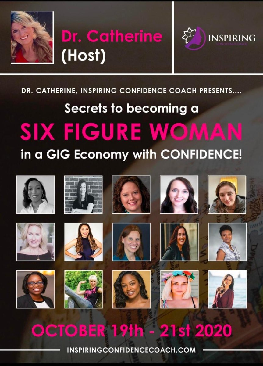 See @AmandaPCole at the Inspiring Confidence Coach virtual summit!   Head to https://t.co/NeE1EgzzjO to register.   It's free!  #womenintech #womensupportingwomen #womeninbusiness #womeninstem https://t.co/dTUSoSOPSU
