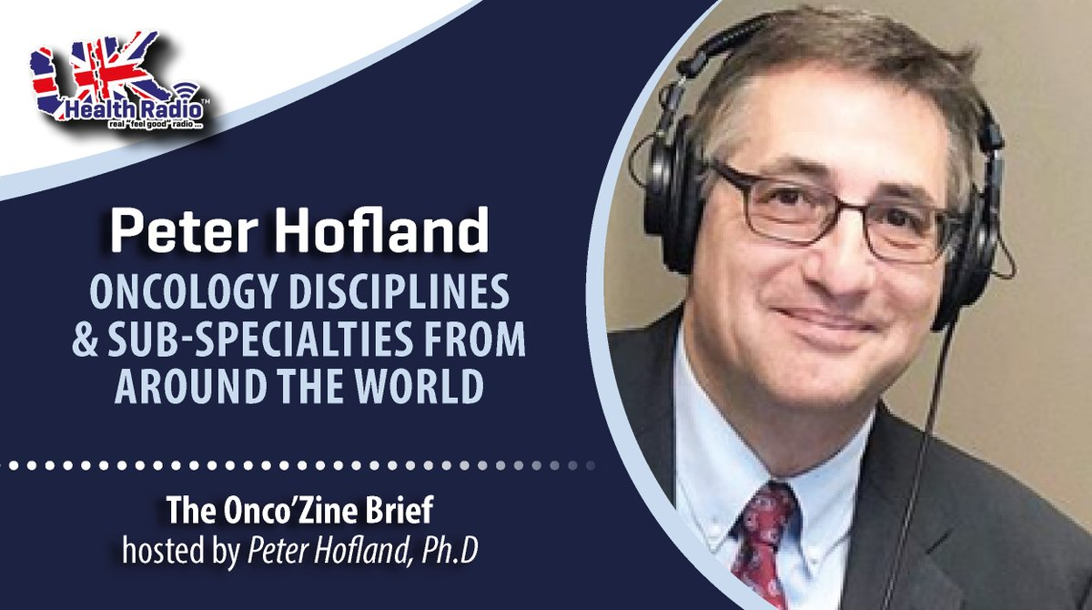 The @OncoZine Brief with Peter Hofland, Ph.D on @ukhealthradio - The 'Changing #CancerCare' or 'C3 Prize' - It's an effort to foster innovation in #cancer #care beyond #medicine and change the entire experience for #patients, #caregivers & loved ones. 👉 https://t.co/GNha7Iso5a https://t.co/hAUxUS0i7K