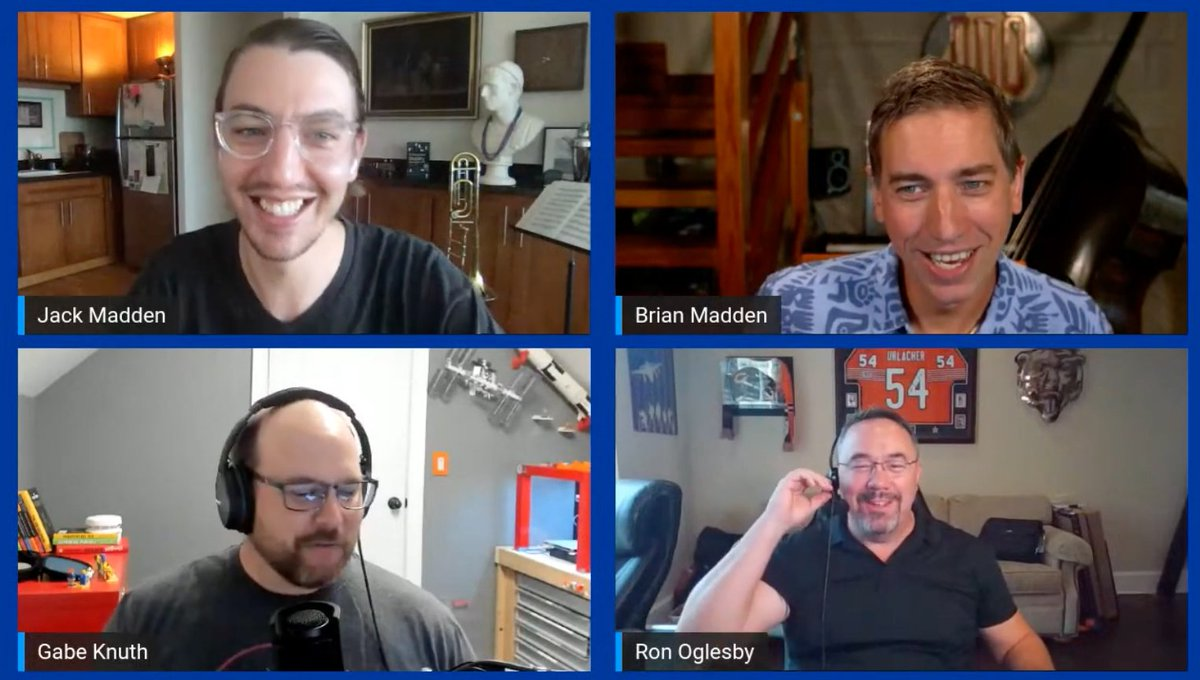 Get a preview of our VDIscover track at #VMworld2020 next week, with @brianmadden, @GabeKnuth, @RonOglesby, and me in the replay of our first ever live stream! We also talked about DeskCon, Employee Experience, and even Windows licensing! https://t.co/NwkCWqaseM https://t.co/P4dR0wh4GZ