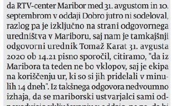 .@RTV_Slovenija, je to mogoče? Ni vklopov v oddajo, ker ljudje koristijo ure!!!!!Zaposlenih pa več kot 2200 ljudi, proračun  pa 126 milijonov evrov! @vladaRS @mk_gov_si ⬇️⬇️⬇️⬇️⬇️⬇️⬇️⬇️⬇️ https://t.co/pgfINBAYR3