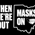Image for the Tweet beginning: #MasksOnOhio #InThisTogetherOhio