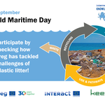 Today is the #WorldMaritimeDay - a perfect time to check out what #Interreg has done to tackle the challenges related to plastic litter! In this infosheet, by the Interreg Knowledge of the Seas Network, you get a quick overview of several great actions: https://t.co/UNjPo0qx8n