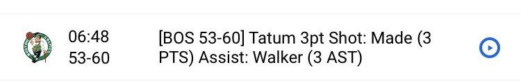 Tatum cette nuit il a mit ses premiers points à 6:48 de la fin du 3eme QT ...  ... Il a terminé à 28 points 😳  #NBA #WholeNewGame https://t.co/meucAGzHcy