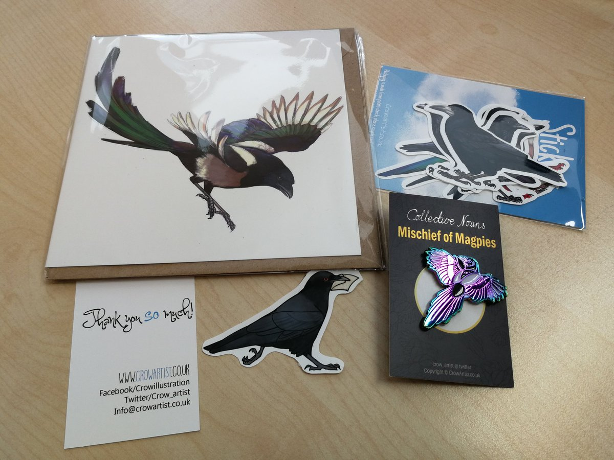 test Twitter Media - RT @Suvillyon: Ah! Thanks to @crow_artist <3 We need more magpie stuff! https://t.co/5wG4Y5hsWH