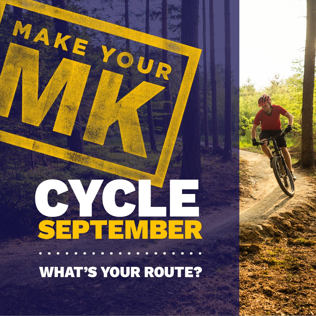Confident on the cycle path?   Explore the Pilgrim Trail #Cycle Ride through Tattenhoe Valley Park across grass and tracks, rich in #wildlife. See what you can spot!   🐝🌿🐞🦆  #MakeYourMK #CycleSeptember https://t.co/9rBfQUOLtP