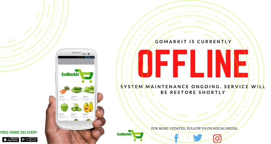 Dear Valued Customer, please be informed that our  service is being upgraded and will be temporarily unavailable.   We sincerely apologize for the inconvenience and will inform you immediately when the upgrade is completed.   Thank you for your patronage .   #GoMarkitSL https://t.co/xgQ3vXl7Oj