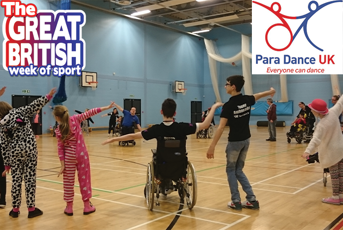 Get your dancing shoes on tomorrow for the Inclusive Remote Day of Dance! 🕺  Try street dance, contemporary dance and movie musical theatre dance from the comfort of your own home with this @_ukactive initiative - part of @GBweekofsport   Find out more 👉 https://t.co/KYGycfemy4 https://t.co/lnAzhOTf1j