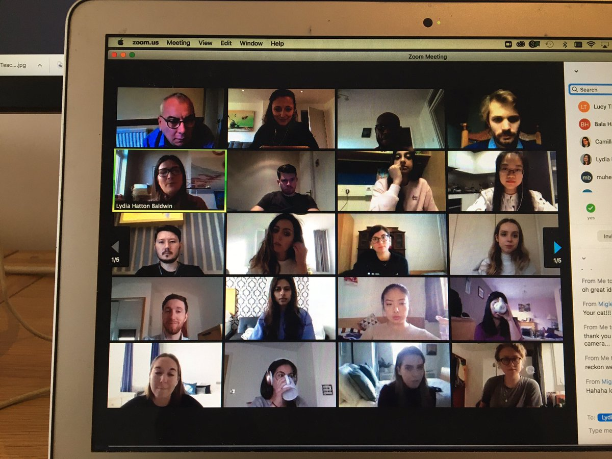 So excited to meet some of our incoming students at today's virtual #healthpolicy social ☺️ #welcome