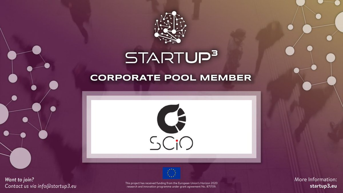 Excited to join @STARTUP3_EU an initiative that aims to build and facilitate an open and collaborative ecosystem for high impact deep-tech innovators and corporates #bigdata #dataanalytics #foodsystems #deeptech #innovation #startups #SMEs