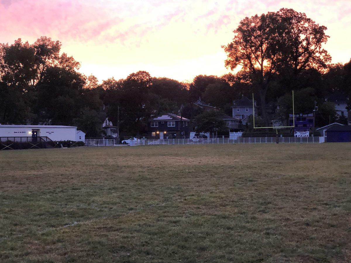 Nothing better than Feigel Field on a fall morning! #BUCPRIDE https://t.co/sDhmhVXJ1N