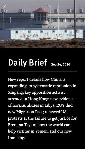 New report details how China is expanding its systematic repression in Xinjiang.   Daily Brief: https://t.co/91wGq4z6ks https://t.co/Lx0iyWMlh2