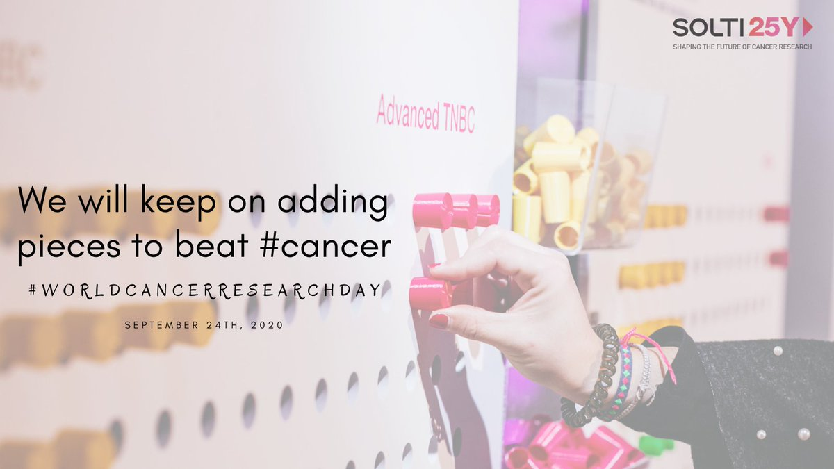 Today we celebrate #WorldCancerResearchDay and want to thank you all who day by day face and fight against #cancer  👏Healthcare professionals 👏Patients 👏 SOLTI team 📈25 years searching for better treatments and will definitely keep on for many more! ♾https://t.co/mIuTpzdVO2 https://t.co/AVczl7ieE6
