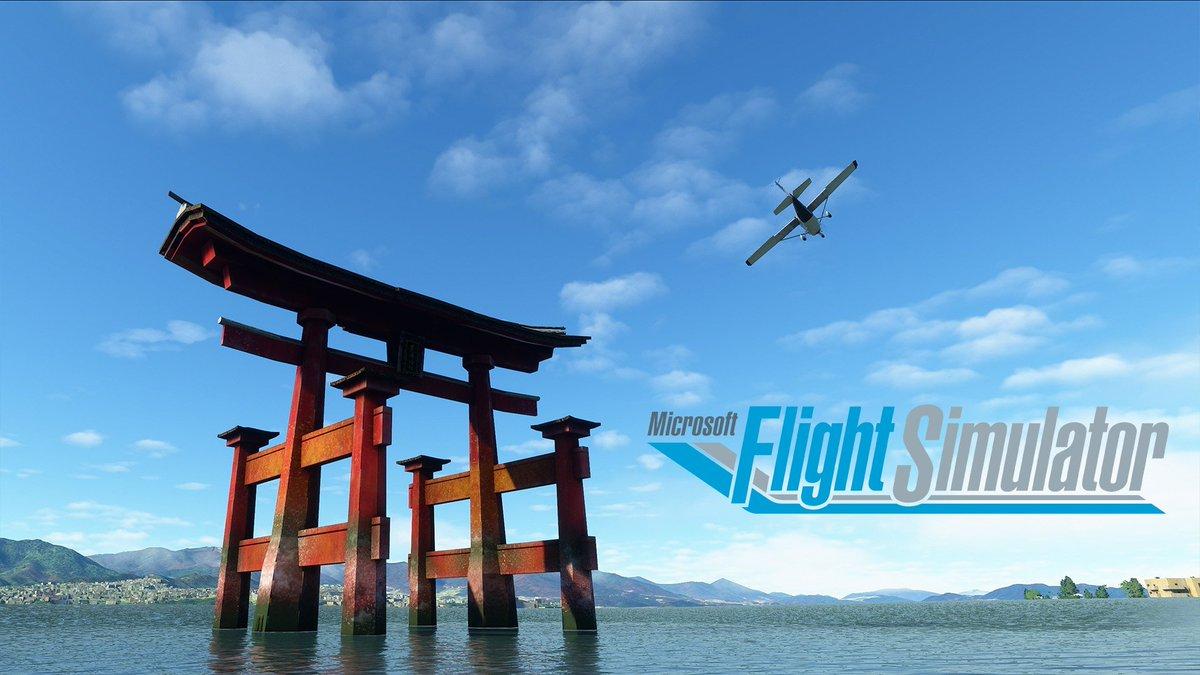 Il tuo viaggio con #MicrosoftFlightSimulator è appena iniziato! Prossima fermata: Giappone! 🇯🇵 https://t.co/cT8vttWS6n https://t.co/WCqUq2ydQm