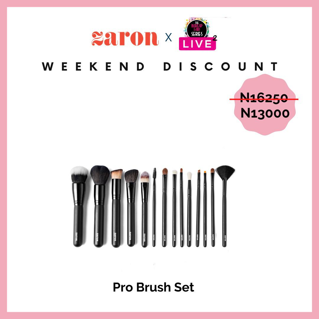 Hi lovelies, these Zaron products and more are on discount for the makeup fair.  10k and above gets free delivery within Lagos  20k and above gets free delivery outside Lagos All orders get freebies💃🏽💃🏽,so happy shopping 🛍 click to order 👇 https://t.co/z06vxOsRZm https://t.co/U6DcaGHTlo