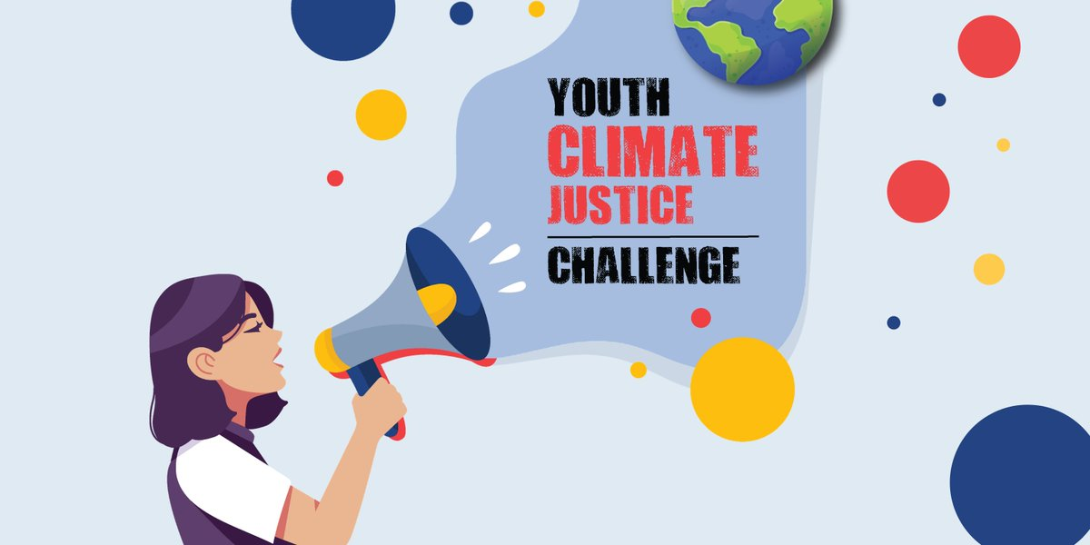 We are joining the #YouthClimateJustice Challenge! Young people will be empowered to undertake their own Action Projects, working directly with their communities and local policymakers. They will showcase their work during Climate Justice Week this Nov! Stay tuned for more! https://t.co/0ixcy7LFH1