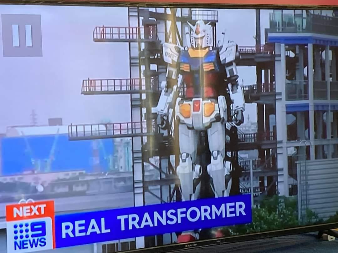 日本では「ロボットは全部ガンダム」なんて言うけど、海外だとこうなるんやな。