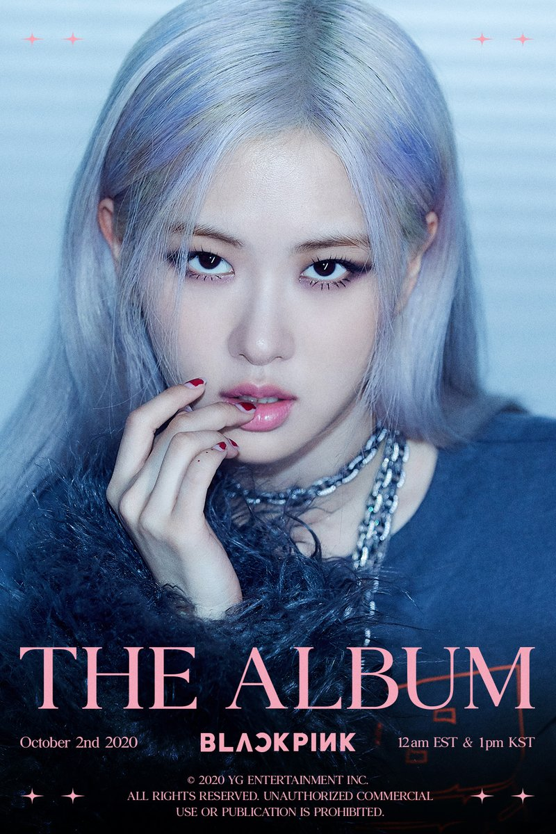 'THE ALBUM' ROSÉ TEASER POSTER #1  #BLACKPINK #블랙핑크 #ROSÉ #로제 #1stFULLALBUM #THEALBUM #TeaserPoster #20201002_12amEST #20201002_1pmKST #Release #YG https://t.co/tDrfvBl07s