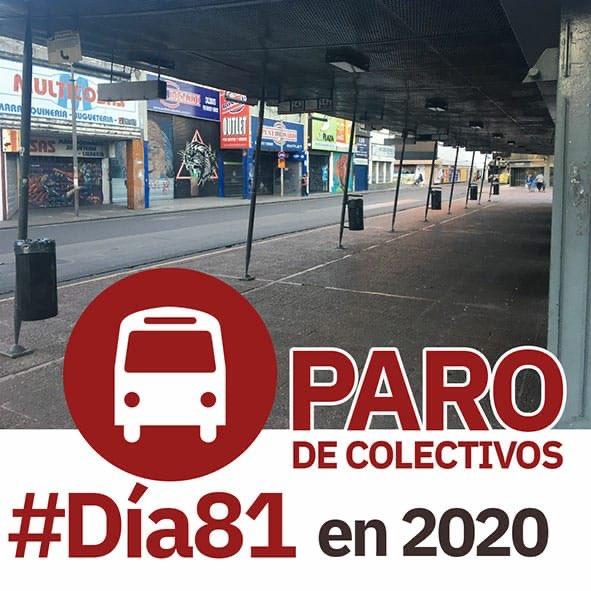 🚌Paro de transporte urbano de pasajeros #Dia81 en lo que va de 2020. 🚎La única estrategia de @MuniRosario y @GobSantaFe es que Nacion mande una plata que siempre llega tarde. 🚕Mientras tanto rosarinos a pie y gastando en taxis y remises el dinero que no tienen. ❌Gestión Cero. https://t.co/mgP33o5VRR