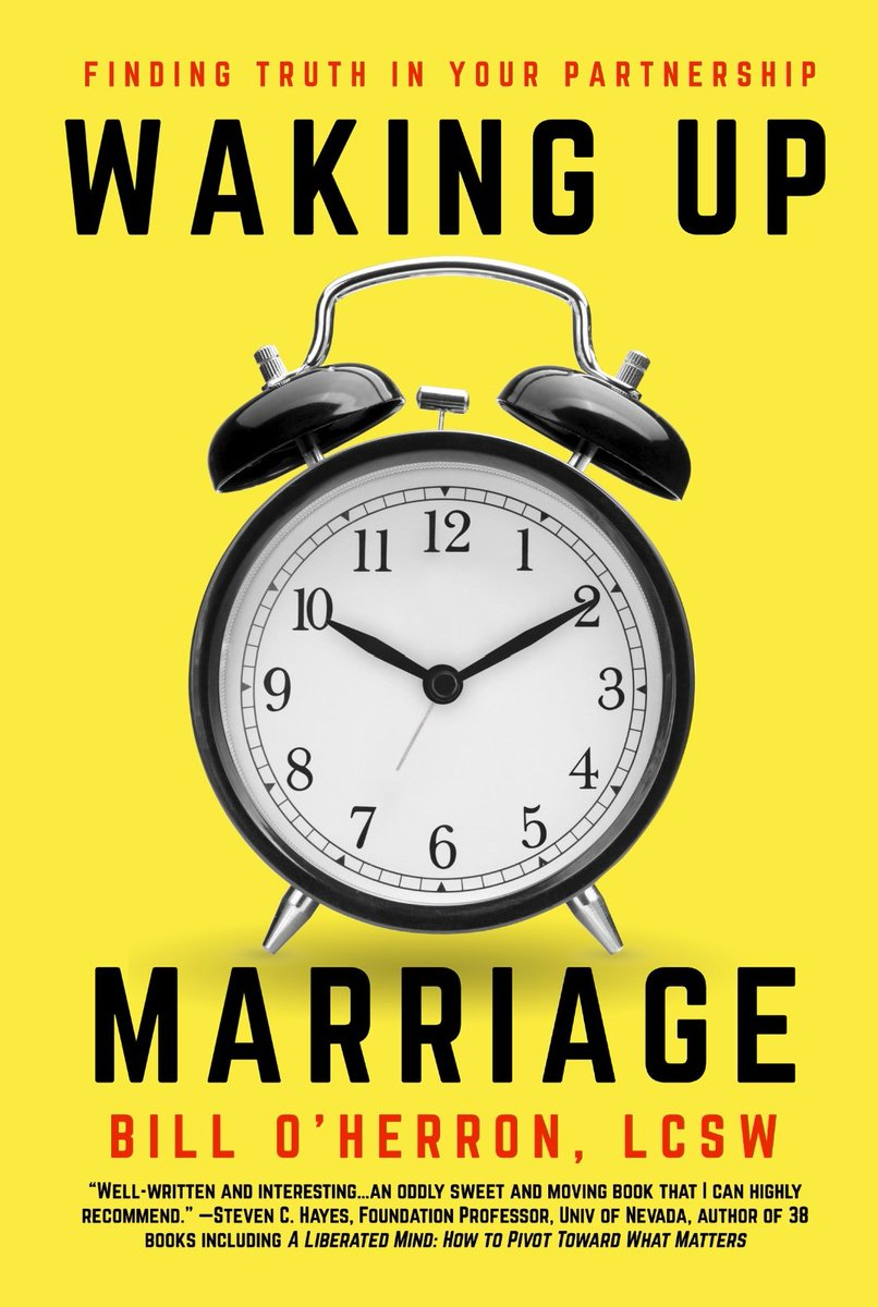 WAKING UP MARRIAGE by Bill O'Herron, LCSW is available for pre-order. https://t.co/8CJS1Fz3nL  #nonfiction #selfhelp #couples #marriage #relationships #psychology https://t.co/6S74nJEH0v