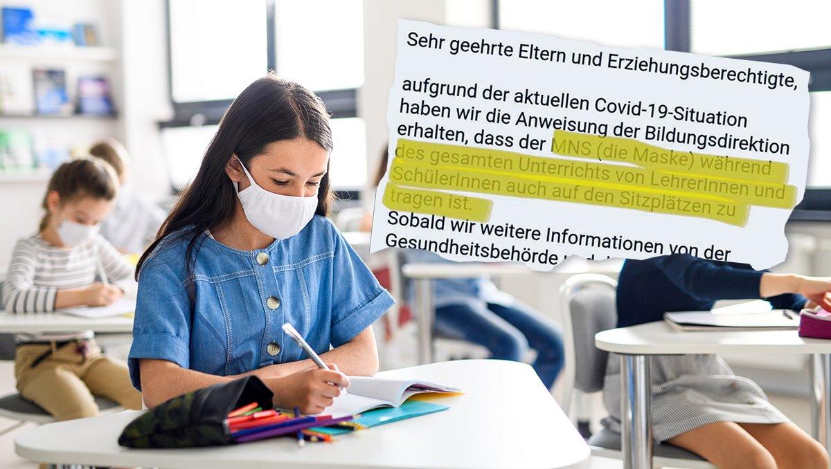 Maskenpflicht erstmals auch in einer Klasse in Österreich verhängt, ein Lehrer ist Covid-positiv https://t.co/wA0fbDd5sg https://t.co/2hgvHHhk3o