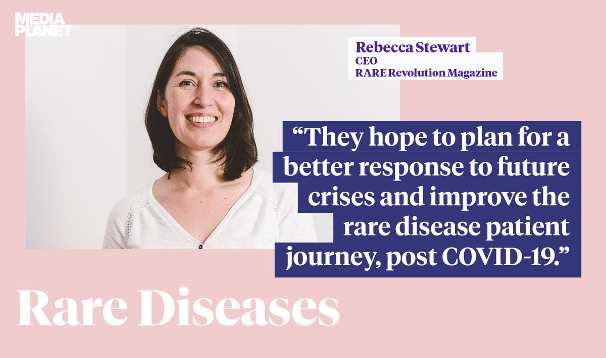 Our collaborative article with @camraredisease and @M4RareDiseases about our ARDEnt multi-stakeholder project looking at the impact of COVID-19 on the rare disease community. Thanks  to  @MediaplanetUK for the chance to talk about this project.  https://t.co/qJqJFyQ2T7 https://t.co/0W6A4jsdtH