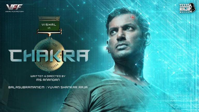 #Chakra Release Soon OTT   Stay tuned More Details   Starring  @VishalKOfficial #ShraddhaSrinath #ReginaCassandra #SrushtiDange #YuvanShankarRaja #MSAnandan   #VishalChakra #ChakraOnOTT #Vishal   Follow @RS_Cinemas For More Çinema Ûpdates & OTT Ûpdates https://t.co/tSzv3Cd3dp