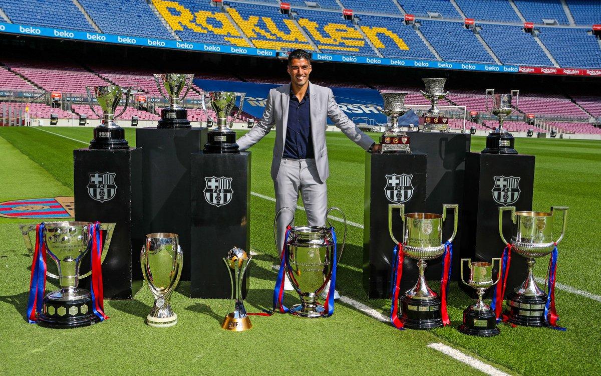 Replying to @FCBarcelona_es: Eres leyenda, @LuisSuarez9. #9raciasLuis