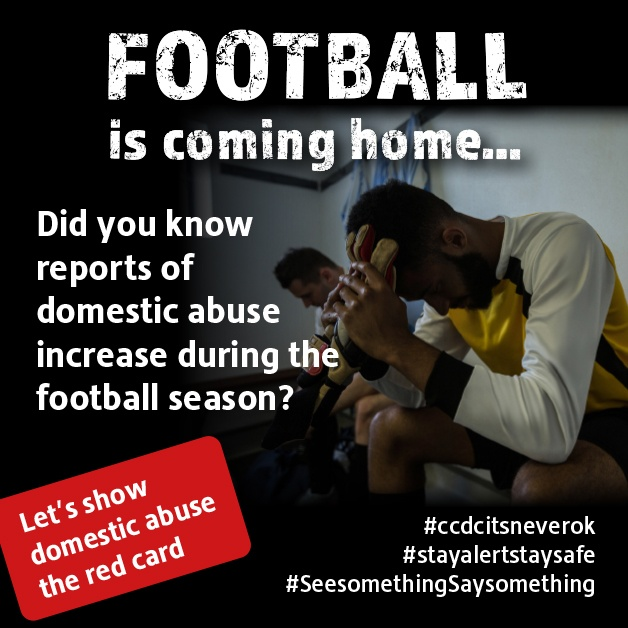 Football fans are no doubt glad football is back…  However, for some it's a scary time with an increase in aggression and violence from a partner.   No one should have to suffer in silence. Call New Era on 0300 303 3778  Show domestic abuse the red card https://t.co/HCcpZQ2Skp