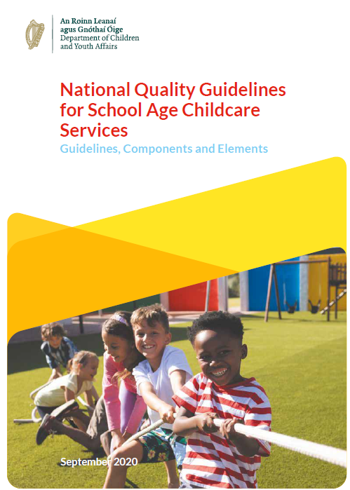 We are delighted to welcome the launch of the National Quality Guidelines for School Age Childcare Services today by @rodericogorman @DeptDCYA https://t.co/3NuEsCbTpR