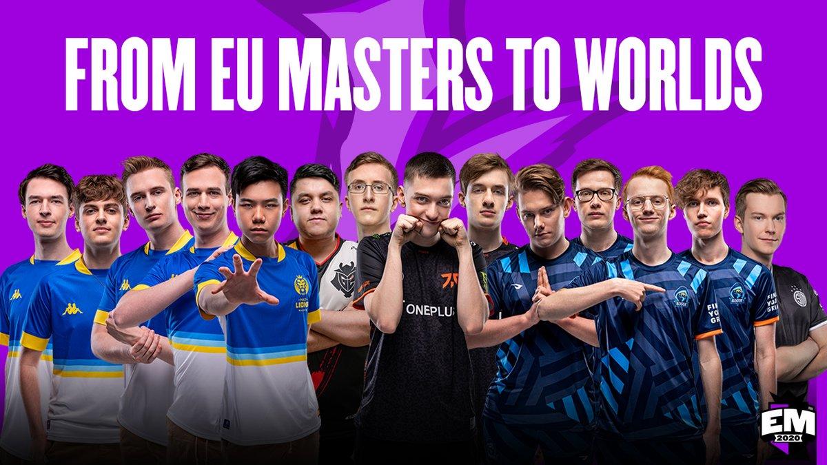 EUMasters - Good luck at #Worlds2020 to all former #EUMasters players!   @KaiserLoL   @Carzzylol   @Humanoidlol   @OromeLoL   @shadowlol   @P1noyLoL   @FNC_MagiFelix   @selfmade_LoL   @nemesis_lol   @Inspired_jng   @Vanderlol   @Larssen00   @FinnLoL   @TreatzLoL