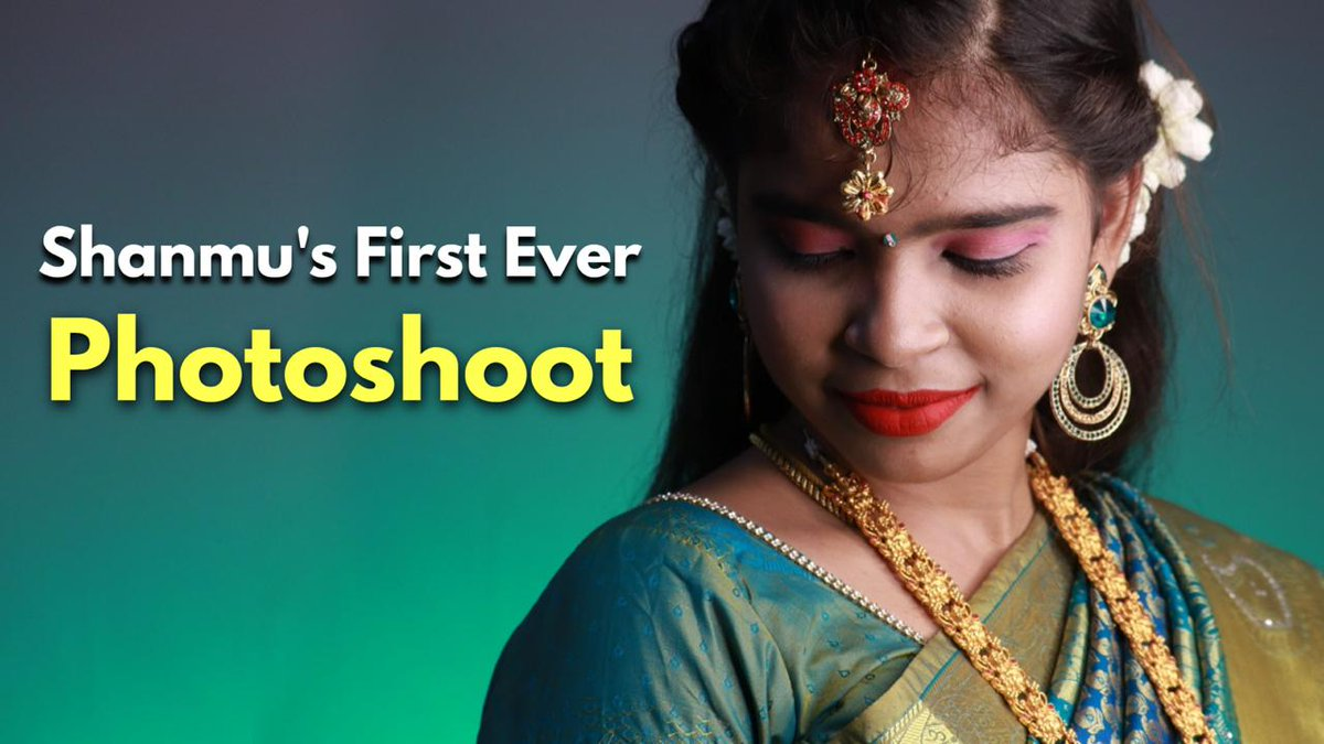 Shanmu's First Ever Photoshoot ❤️ With Makeup & Saree 😍   And asusual lot of guns there in the video 😝 Watch Fully !! Just spend ur 5 mins of time & Enjoy   https://t.co/u2PIxd7np6  #BridalPhotoshoot #traditionallook #photooftheday #LoveWithoutBoundaries #photographer https://t.co/BBX9B0Besw