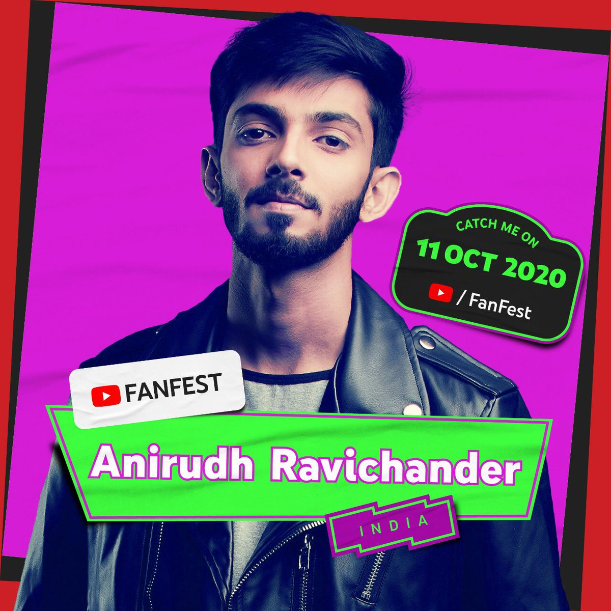 It's happening! I'm so excited to be performing on the #YTFF2020 livestream on 11 Oct 🥳 Remember to follow @YouTubeFanFest for more updates on the show details! https://t.co/zbGUhHnA8p