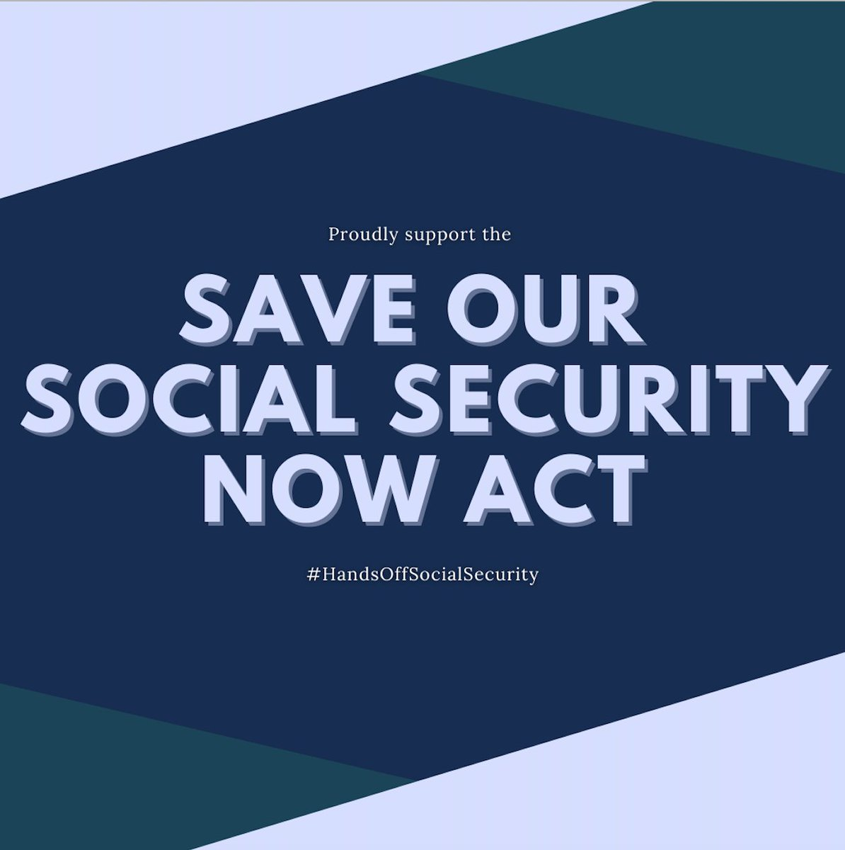 I will always fight to protect our countrys most reliable retirement and insurance plan- #SocialSecurity. I am proud to support #SocialSecurity2100 and the #SaveOurSocialSecurityNow Act to protect this program workers pay into with every paycheck.