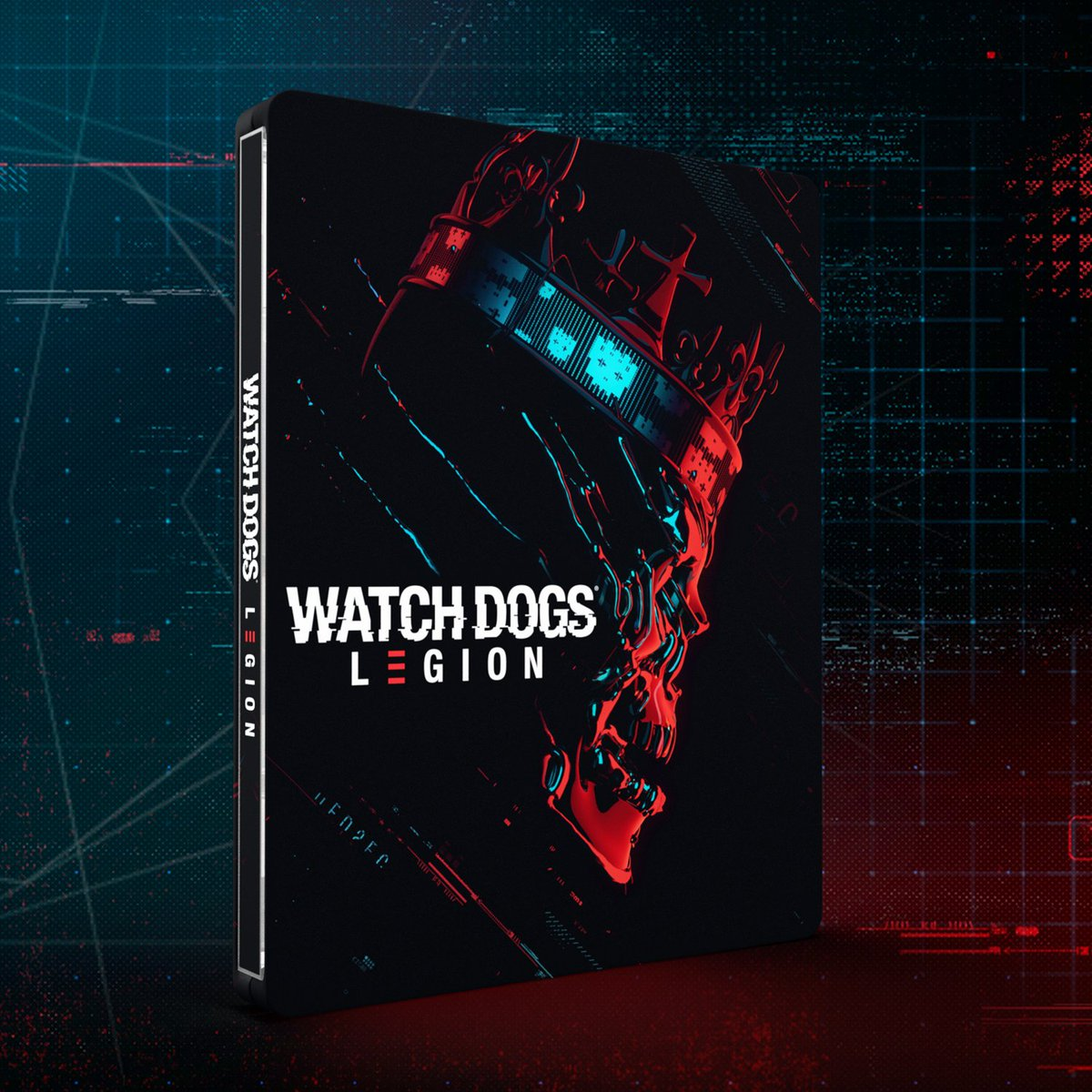 Watch Dogs: Legion Collector's SteelBook® Edition.  Time to mask up and join the Resistance on October 29th !  🐽 https://t.co/0fTH3v674e    #UBISOFT #WATCHDOGS #WatchDogsLegion #steelbook #steelbookcollector #collectorsedition #videogamesaddict #xboxone #xboxgames #ps4games https://t.co/KWAkFqB9nT