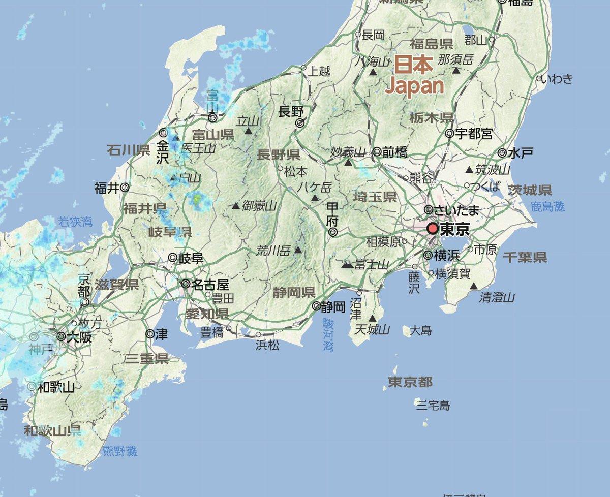 雨雲 レーダー 天気 浜松