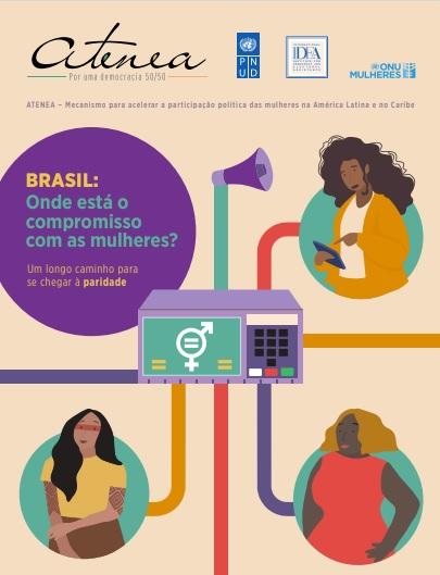 Logo mais, às 10h, acontece uma entrevista coletiva de lançamento do #ATENEA, mecanismo criado para acelerar a participação política das mulheres em países da América Latina e do Caribe. Uma parceria do #PNUD com a @ONUMulheresBR. Acompanhe: https://t.co/bVfDtvEtPR https://t.co/HNP8i9Q1JJ