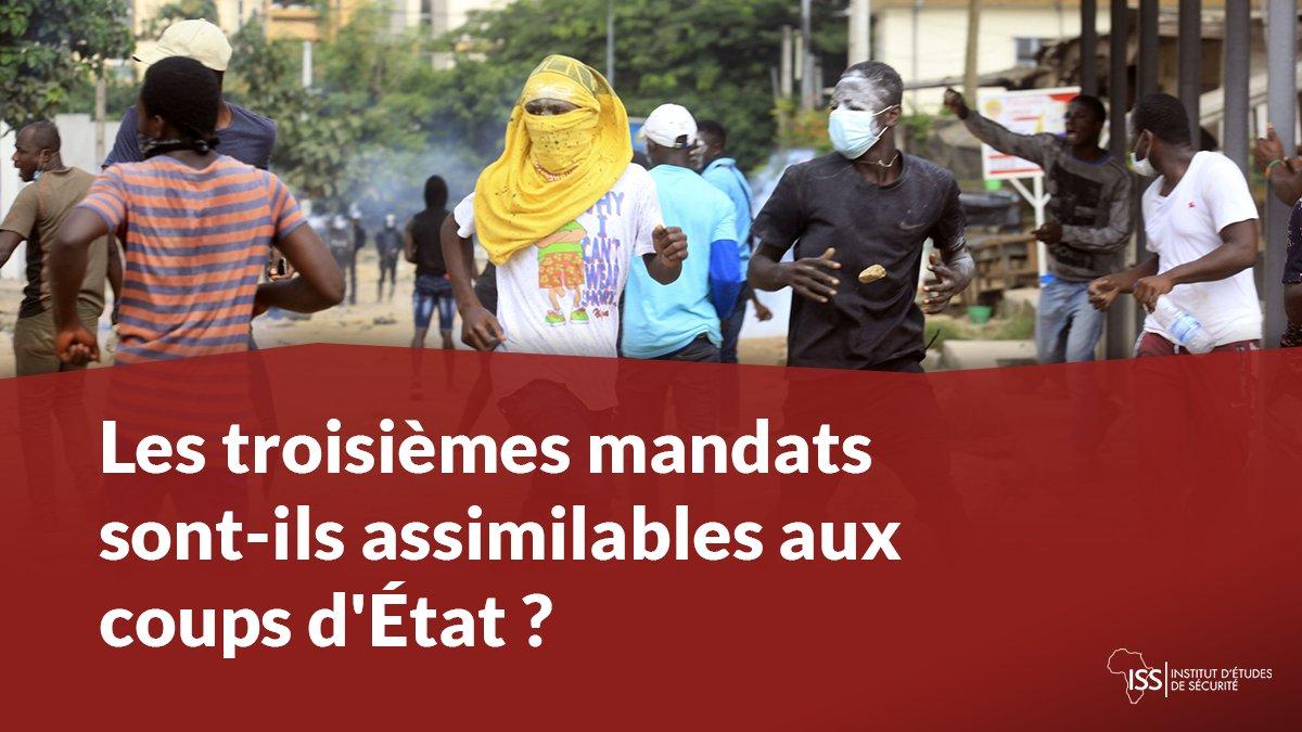 L'#UnionAfricaine et la #CEDEAO vont-elles rejeter les troisièmes mandats dans la même mesure qu'elles dénoncent les #coupsdÉtat ? ISS Today #CôtedIvoire : https://t.co/F5N0zcbmrP https://t.co/7Cc3Qw4Xqo