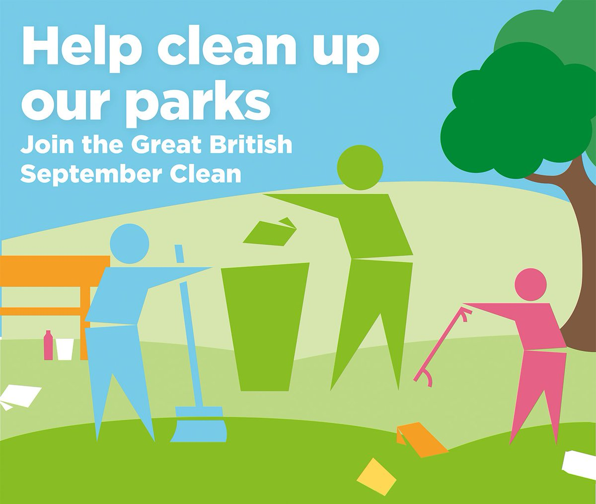 It's not too late to be a part of the Great British September Clean. Litter picking is a great way for individuals or households to spend some time outdoors and help clear up their local community. Find out more: https://t.co/cTkie30pXd #GBSeptemberClean #LoveParks #LitterHeroes https://t.co/R1tSuOD9nU