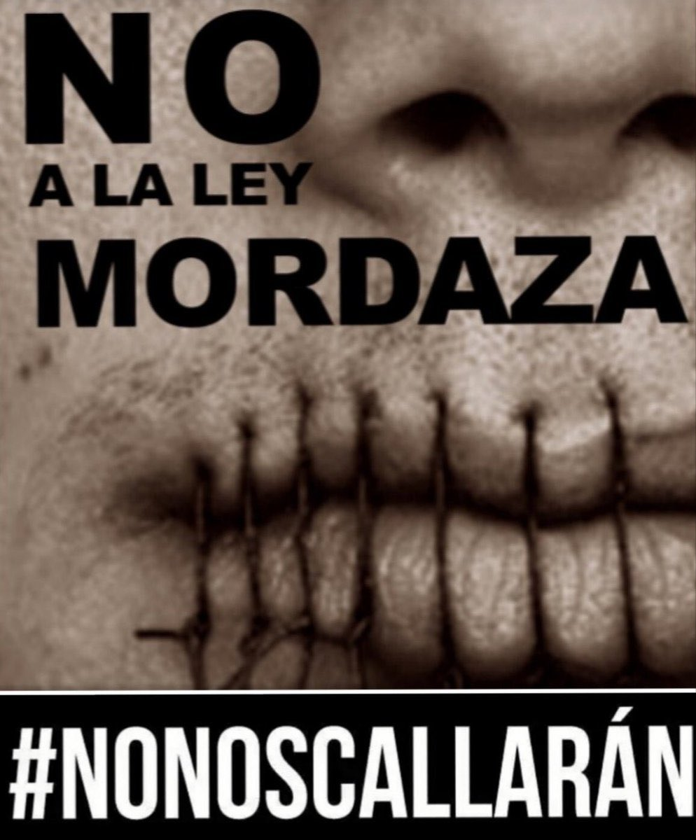 No pueden silenciar nuestras ideas y convicciones, no estamos destruyendo, incendiando ni saqueando el país, merecemos poder expresarnos libremente @allamand @chahuan @Senado_Chile @SenadoresUDI @SenadoresRN @evopoli defiendan nuestra LIBERTAD!!!  #NoNosCallaran https://t.co/FzM9uyyOaG https://t.co/knY6n85HgO