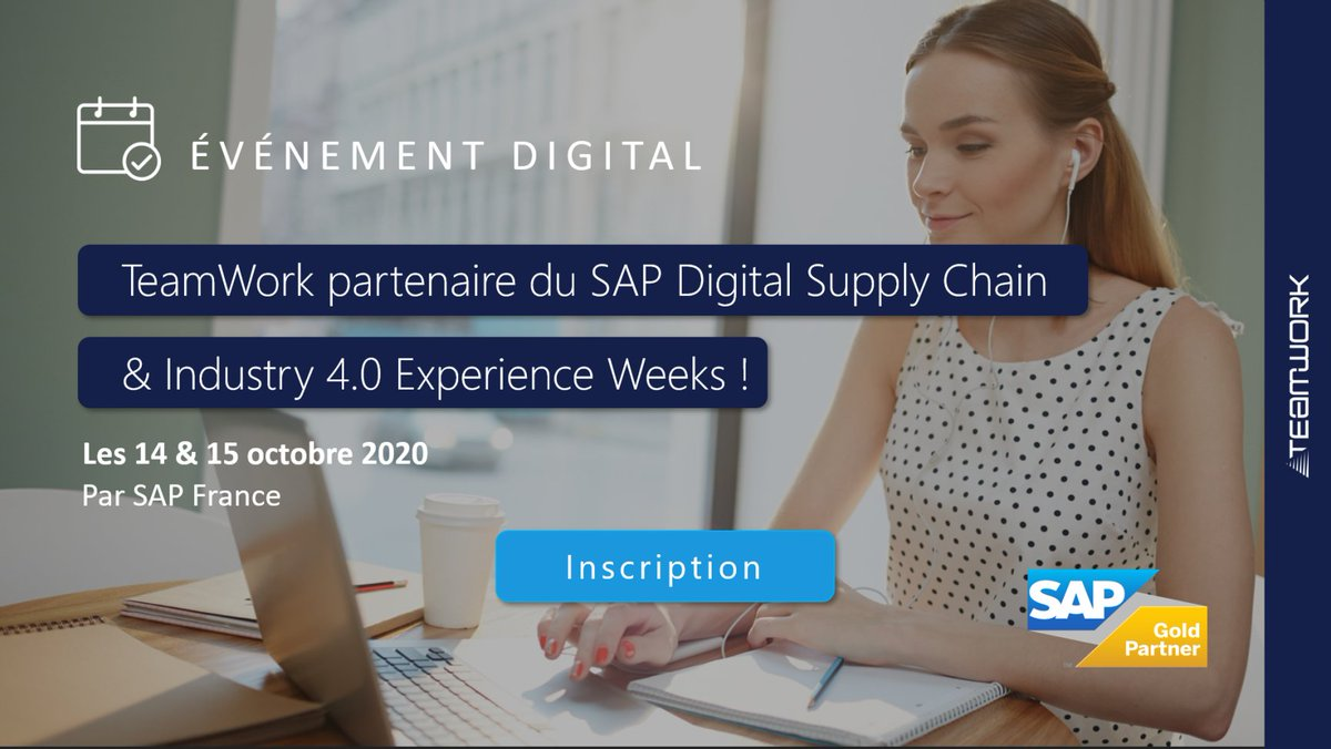Image for the Tweet beginning: 🚀 TeamWork participe au SAP