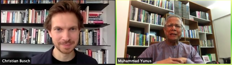 How do we redesign the whole thing? Happening now! Join us for this conversation with Professor Muhammad Yunus (@Yunus_Centre ). Get the link here: https://t.co/5jjL5KUJEA  #YYFoundation #Aworldofthreezeros #NYU https://t.co/82ZZL36jN7